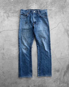 Levi's 517 Dirty Blue Flared Jeans - 1980s