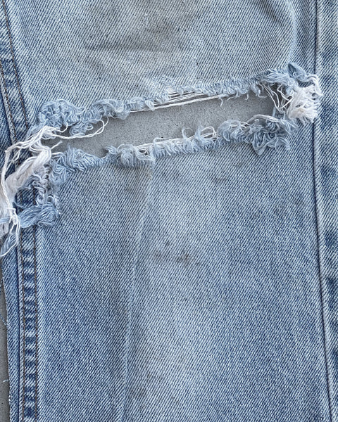 Levi's 517 Orange Tab Missing Leg Jeans