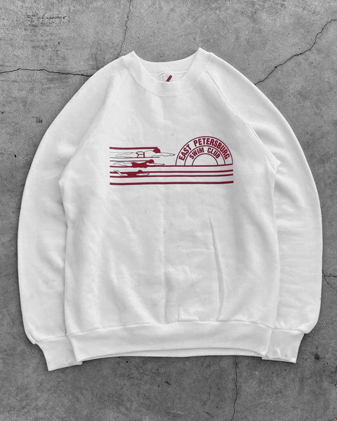 "Jerzees ""East Petersburg Swim Club"" Raglan Sweatshirt - 1990s"
