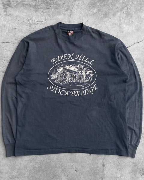 "Fruit Of The Loom ""Eden Hill"" Long Sleeve Tee - 1990s"