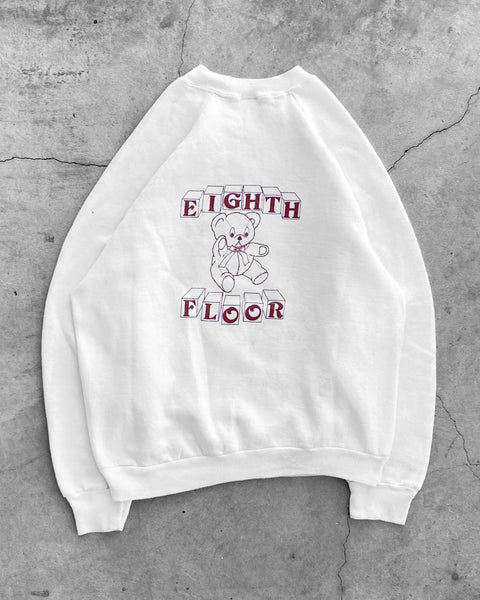 """Eighth Floor"" Raglan Sweeatshirt - 1980s"
