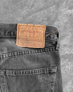 Levi's 501 Faded Black Jeans- 1990s