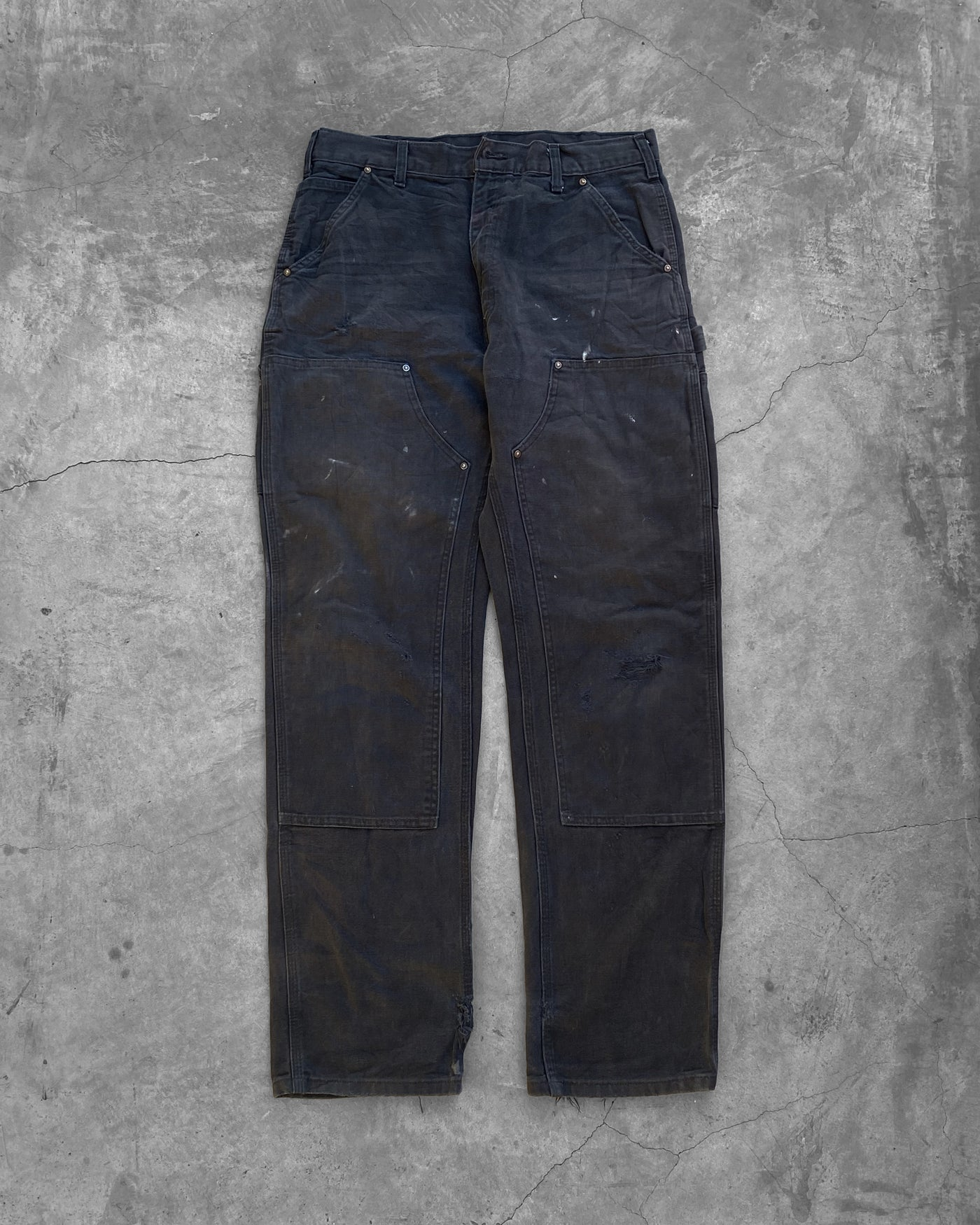 Carhartt Midnight Blue Double Knee Work Pant - 1990s