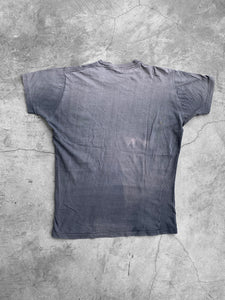 Single Stitched Navy Sun Faded Tee - 1960s