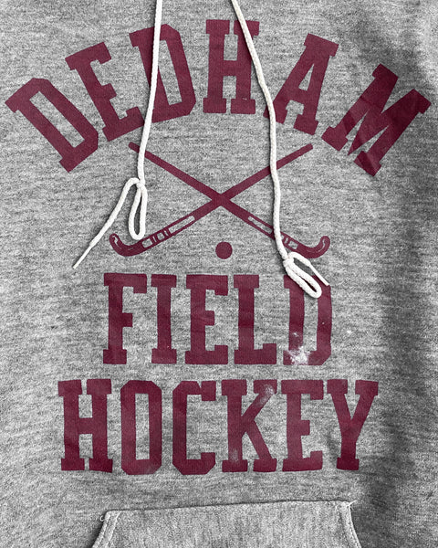 "Russell ""Dedham Field Hockey"" Hooded Sweatshirt - 1970s"