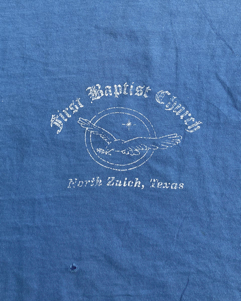 "Hanes Beefy-T ""First Baptist Church"" Tee - 1990s"