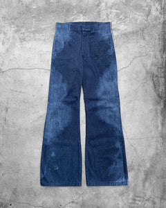 US Navy Sun Faded Flared Pant - 1970s