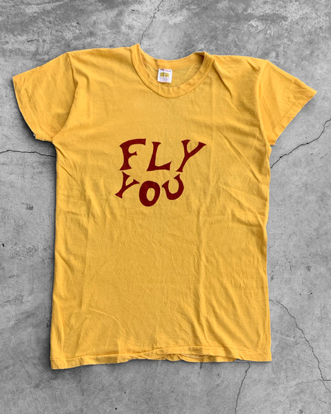 "Single Stitched Russell ""Fly You"" Tee - 1970s"