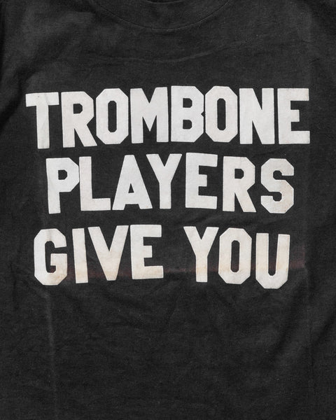 """Trombone Players Give You Goosebumps"" Tee - 1970s"