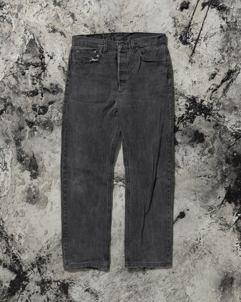 Levi's 501 Faded Black Jeans - 1990s