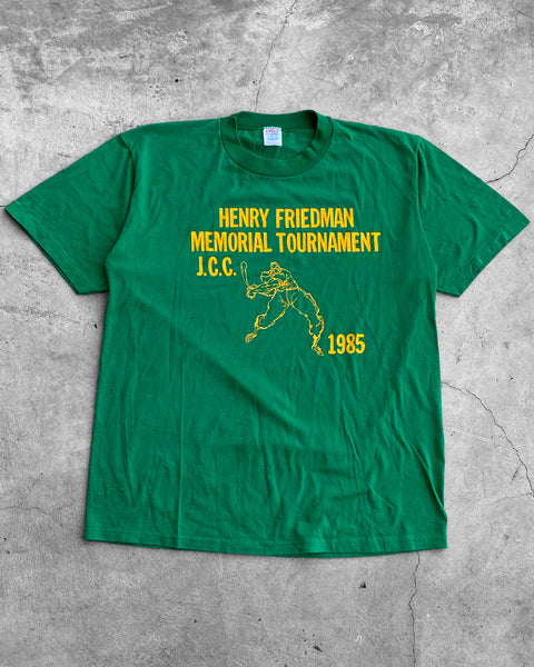 "Jerzees ""Henry Friedman Memorial Tournament"" Tee - 1985"