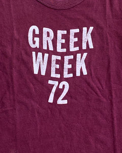 "Single Stitched ""Greek Week"" Tee - 1970s"