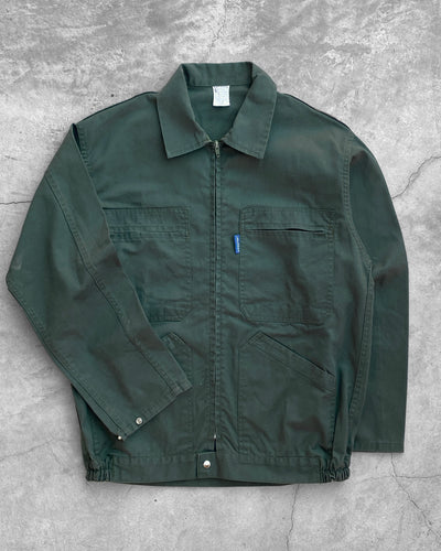 Green Multi Pocket Work Jacket - 1990s
