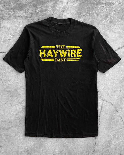 "Single Stitched ""The Haywire Band"" Tee - 1990s"