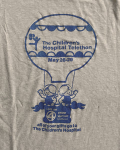 "Single Stitched ""The Children's Hospital Telethon"" Tee - 1980s"