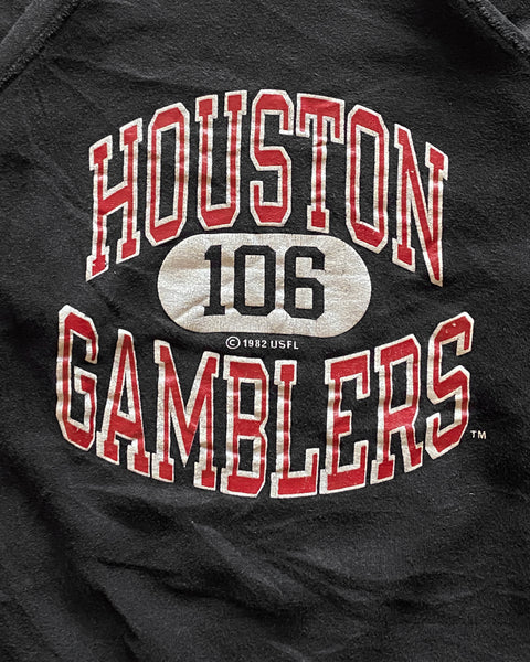"Champion ""Houston Gamblers"" Raglan Sweatshirt - 1980s"