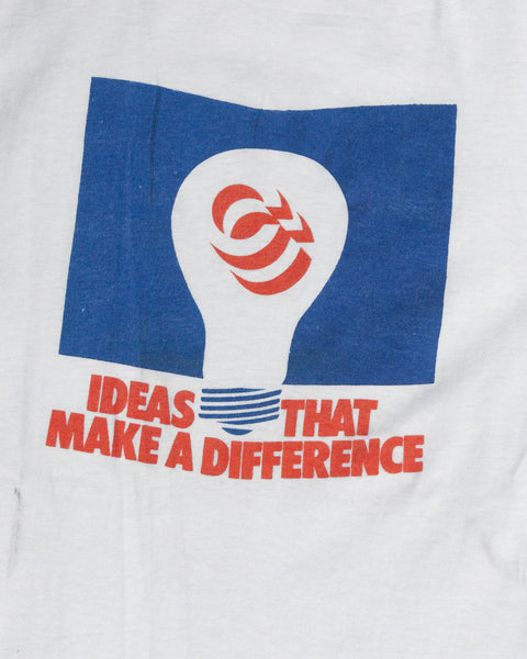 "Screen Stars ""Ideas That Make A Difference"" Tee - 1970s"