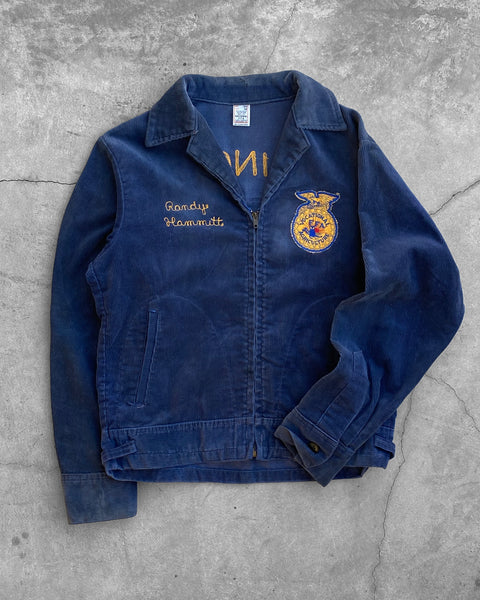 "Corduroy ""Lexington Illinois"" FFA Jacket - 1970s"