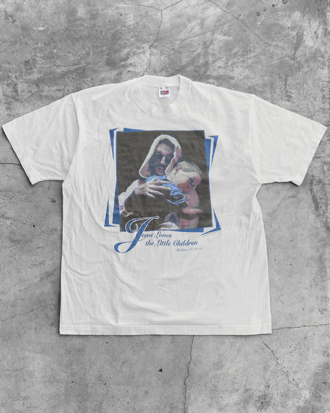 """Jesus Loves The Little Children"" Tee - 2000s"