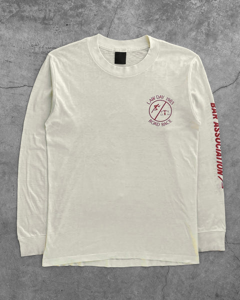 "Single Stitched ""Law Day Road Race"" Longsleeve Tee - 1980s"