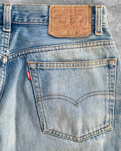 Levi's 501 Knee Blowout Released Hem Jeans - 1990s