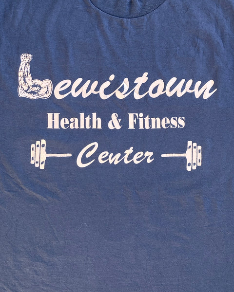 "Single Stitched ""Lewistown Health And Fitness"" Tee - 1990s"