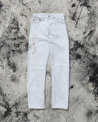 Levi's 501 Dirty Bleached Blue Jeans - 1990s