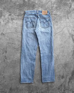 Levi's 501 Blown Out Knee Jeans