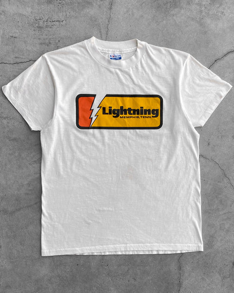 "Single Stitched ""Lightning"" Tee - 1990s"