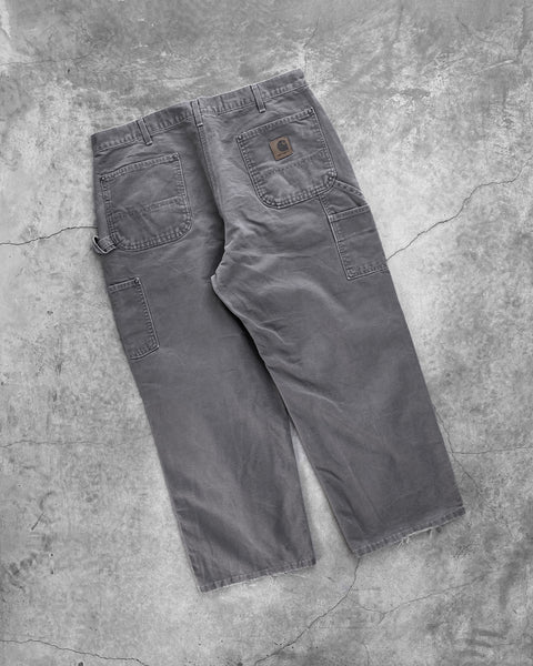 Carhartt Slate Grey Double Knee Work Pants