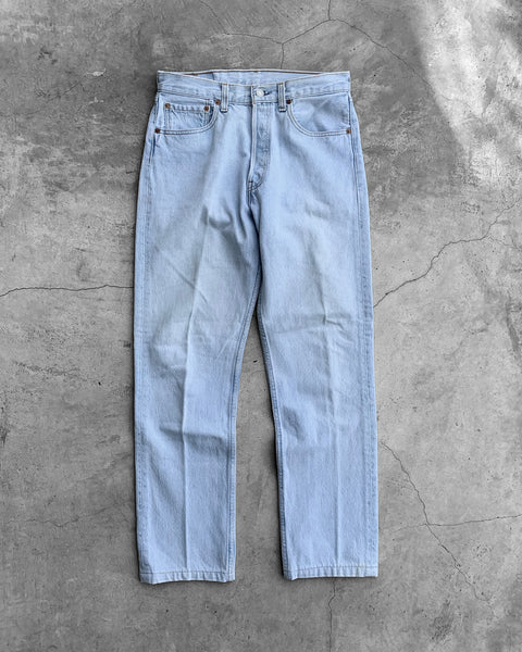 Levi's 501 Light Wash Jeans - 1995