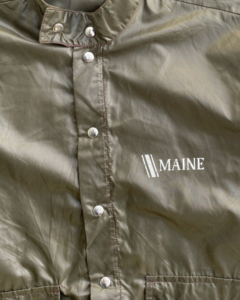 "Brown ""Maine"" Windbreaker - 1960s"