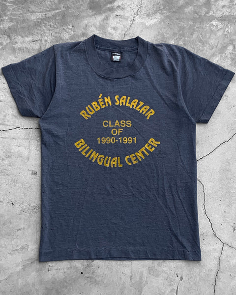 "Single Stitched ""Bilingual Center"" Tee - 1990s"