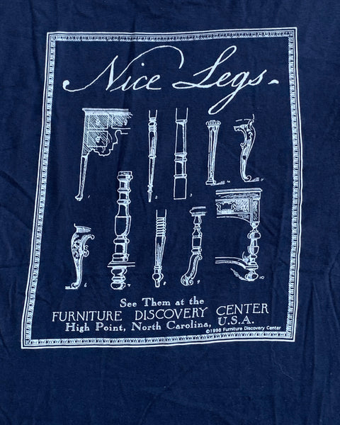 "Single Stitched Navy ""Nice Legs"" Tee - 1998"