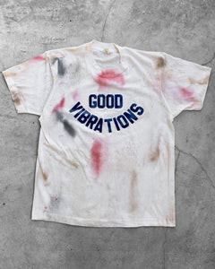 "Single Stitched ""Good Vibrations"" Tee - 1980s"