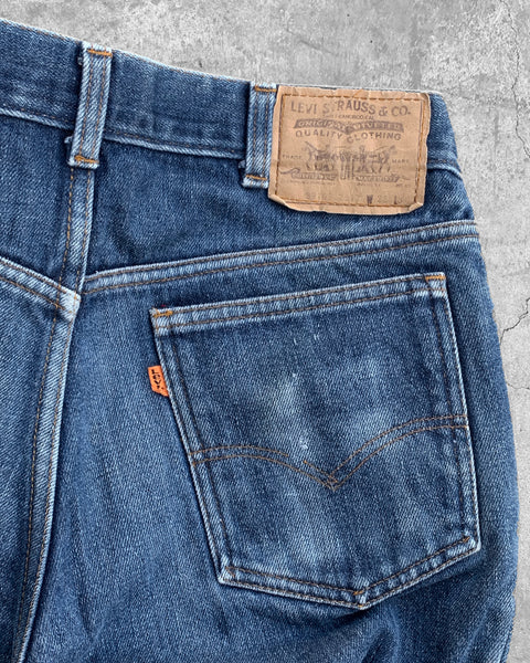 Levi's Orange Tab Faded Blanket Lined Jeans - 1990s
