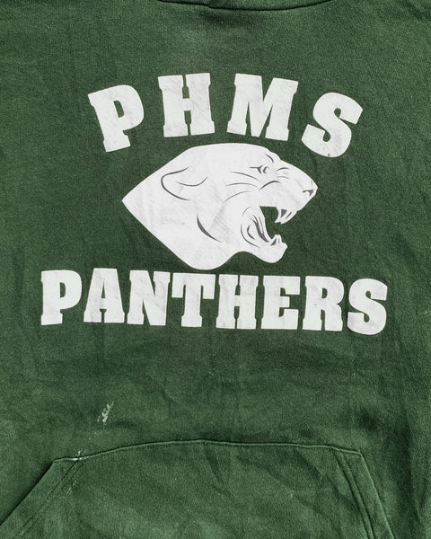 "Russell ""Phms Panthers"" Hooded Sweatshirt - 1990s"