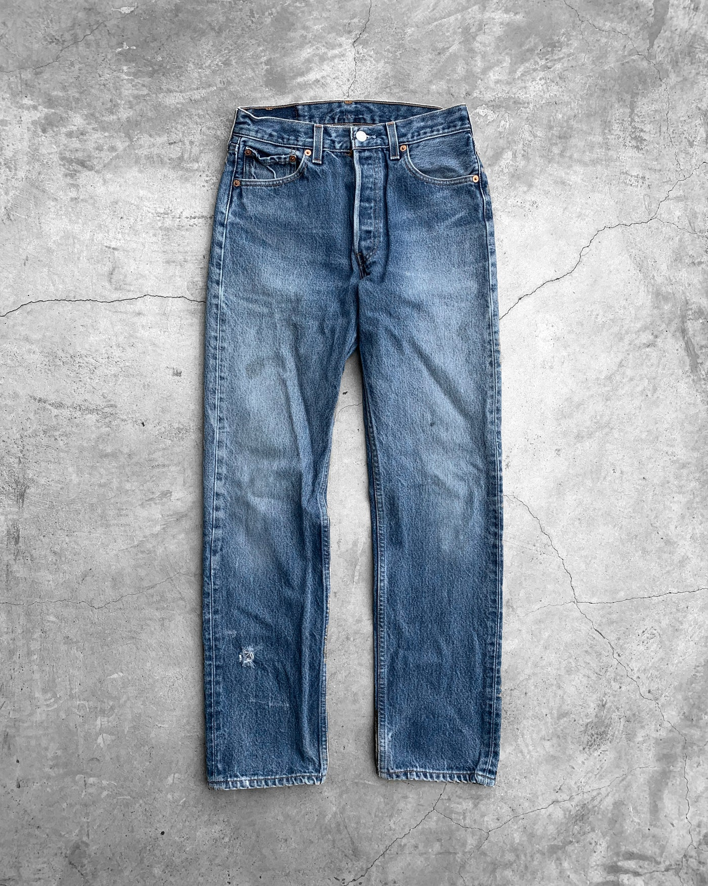 Levi's 501xx Faded Denim Jeans - 1990s