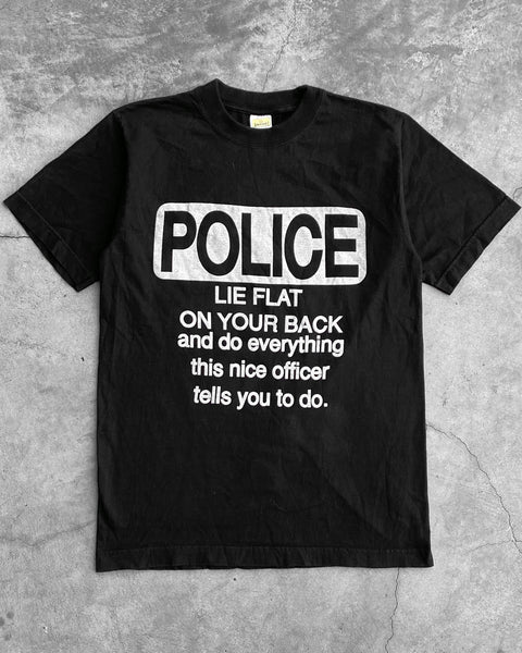 """Lie Flat On Your Back..."" Police Tee"