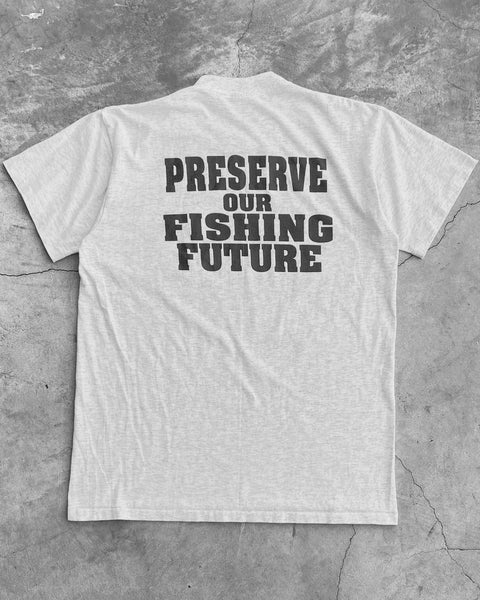 "Single Stitched Onietta ""Preserve Our Fishing Future"" Tee - 1990s"