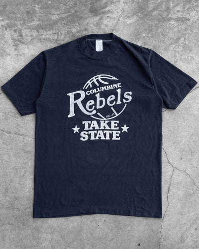 "Single Stitched ""Columbine Rebels"" Tee - 1990s"