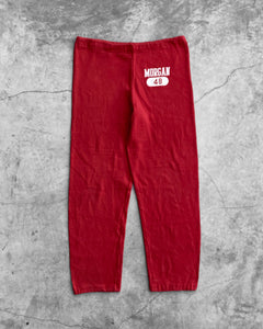 "Russell ""Morgan"" Red Sweatpants - 1980s"