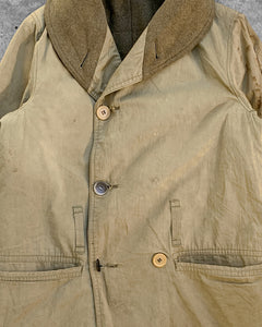 Thrashed Military Jeep Parka Jacket - 1940s