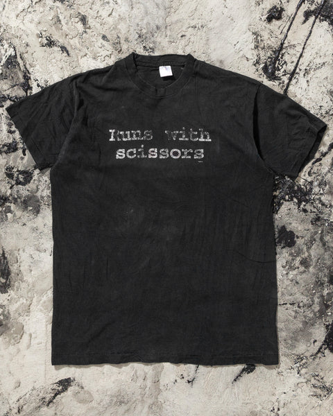 "Fruit of the Loom ""Runs With Scissors"" Tee - 1990s"