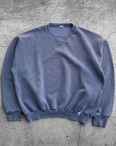 Grey Russell Crewneck Sweater - 1990s