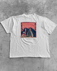 "Single Stitched White ""Sisters"" Art Tee - 1990s"