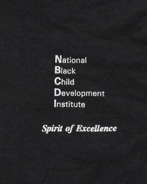 "Fruit of the Loom ""National Black Child Development Institute"" Tee - 1990s"