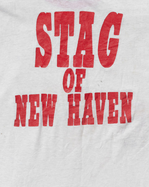 """Stag of New Haven"" Ringer Tee - 1970s"