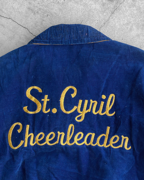 """St. Cyrill Cheerleaders"" Varsity Jacket - 1960s"
