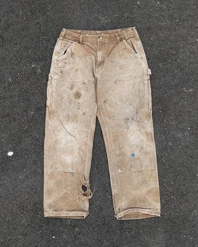 Carhartt Stained & Distressed Double Knee Work Pant - 1990s